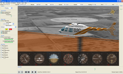 AS Flight Analysis software